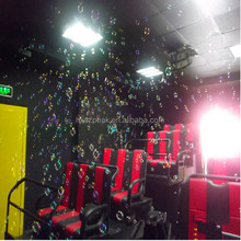 Interactive 7D cinema system for sale, with roller coaster 3D movie
