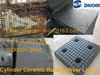 Impact Resistant Liner Composite Ceramic Rubber Impact Liner to Receive Impact Material