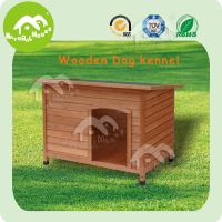 Fir wood handmade dog kennel, dog cage used