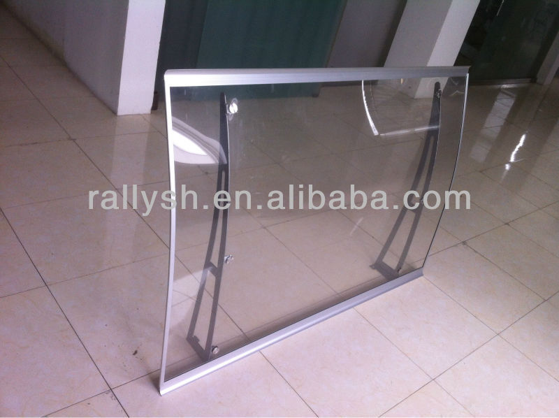 PC /PP/PVC polycarbonate awning/canopy