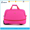 Foldable travel bag new design foldable travel duffel bag with wheels