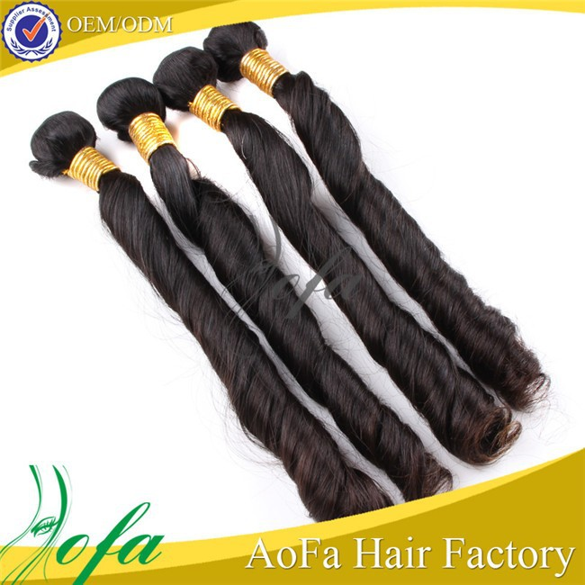 Wholesale top quality unprocessed 100% virgin asian remy hair