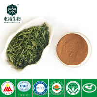 Plant extract Organic Green Tea Extract 98% high quality tea polyphenols with free sample