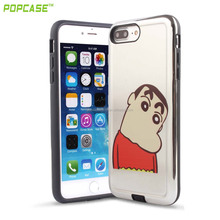 china factory custom printed Durable pokemon go back case cover for apple iphone 7S