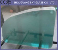 3mm-19mm Double Pane Tempered Glass, Tempered Glass Deck Panels
