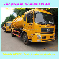 2016 New Type 10000l Sewer Dredge Vehicle High Pressure Jetting Vacuum Truck