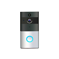 Smart phone remote control home battery-powered wifi doorbell camera p2p wifi clock camera