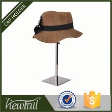 19th century counter top french hat wig stand shop display adjustable height from 245-450 mm available with multi-color