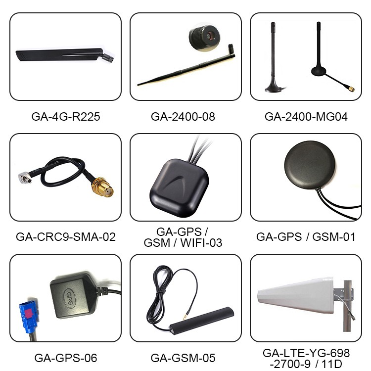 G-Antetech 2.5dB 4G Waterproof Outdoor Screw Mount Antenna