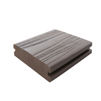 lyw personalized design 3d embossed outdoor composite wpc decking flooring
