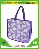 cheap fashion cloth bags with logo printing/ tote pp non woven bags