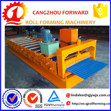 corrugated board production line/ metal roofing sheet cold roll forming machine