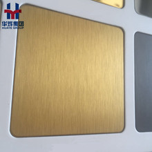 Factory Supply Stainless Steel PVD Colored Sheet Panel Hairline, Brush, Sand Blasting, Vibration