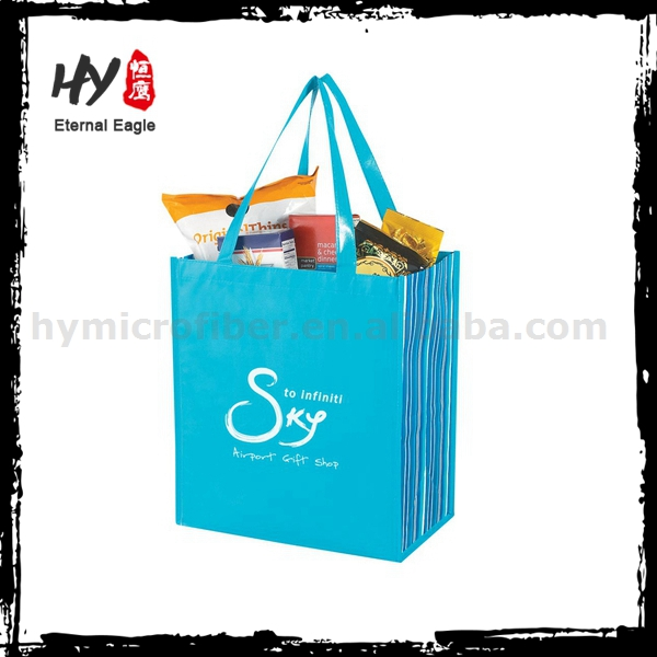Multifunctional stock non woven shopping bags made in China