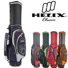 China TOP brand Helix smart design wholesale golf bag with wheels /golf tour staff bag with wheels / golf caddy bag with wheels