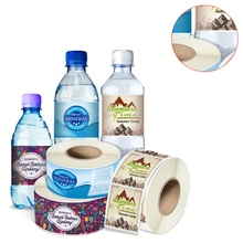 bottle custom label stickers printing adhesive labels sticker