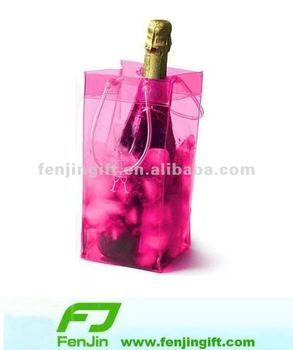 Good quality pvc ice bags for wine