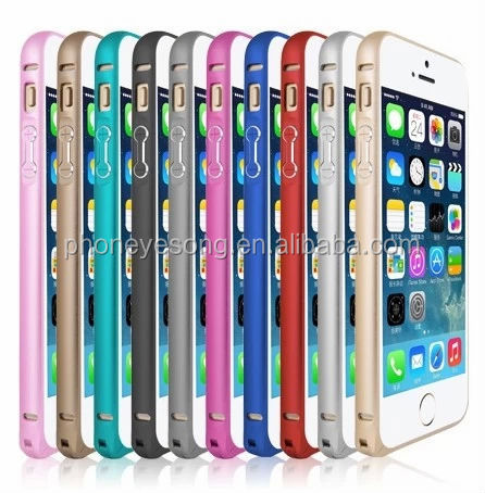 Round edge aluminum metal bumper case for iphone 5s,for iphone bumper case