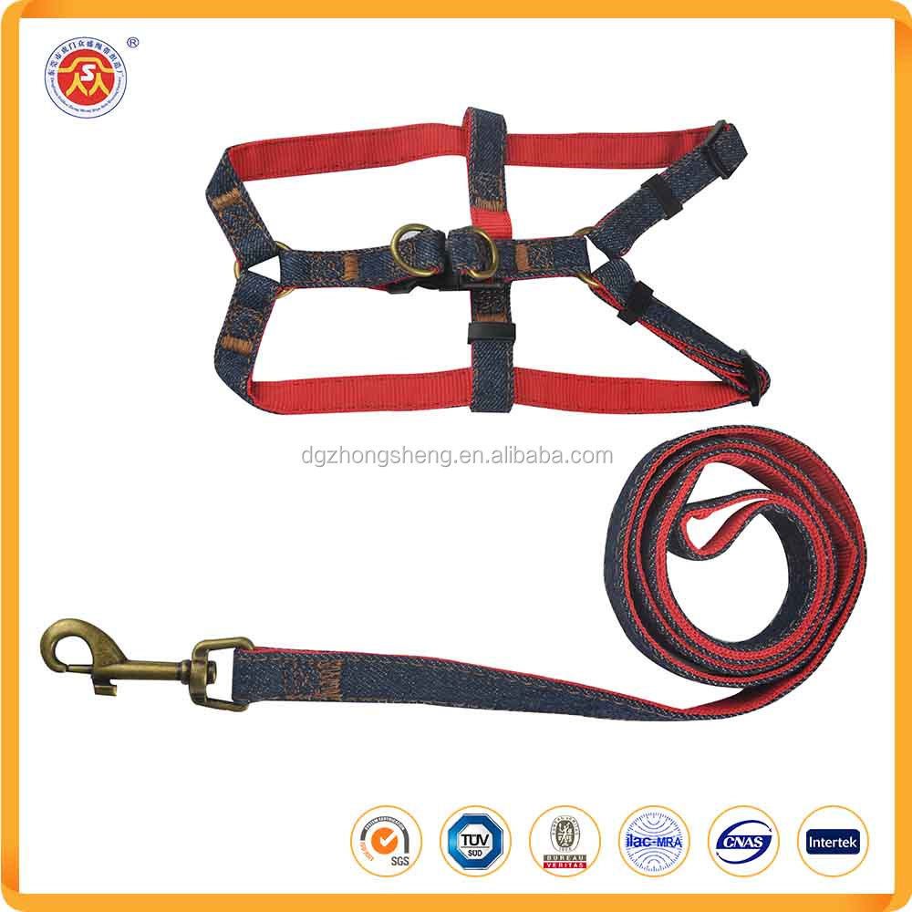 Pet Accessories Nylon Dog Leash And Harness Pet Product For Dogs