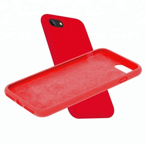 Gorgeous Trade Assurance 60% discount liquid silicone silky touch phone cases with four sides protector for smart phones.