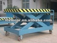 heavy duty trailing scissor lift/steel/new forklift lift price