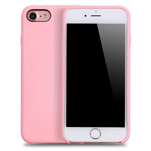 Hot Selling Colorful Liquid Silicone Phone case for Apple iPhone 7,for iPhone 7 liquid silicone case