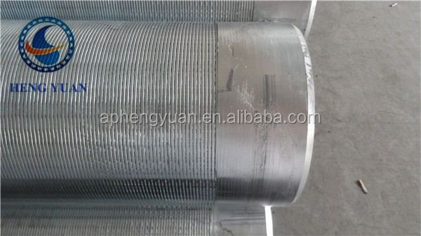 Johnson Stainless Steel pipe screen/welded wire mesh (Leading manufacture)