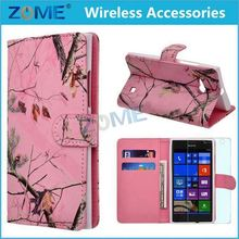 Card Slot Flip Leather Case Classic Style For Nokia Lumia 730/735 Leathercase For Mobilephone