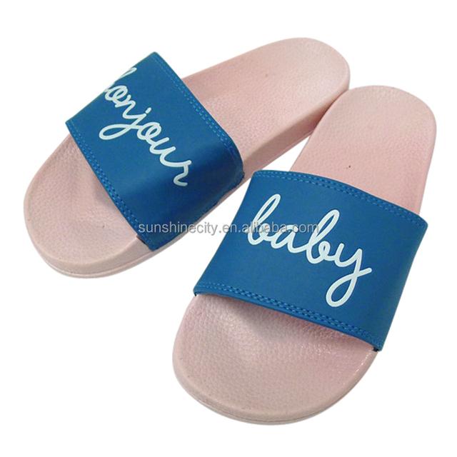 Factory wholesale Women PVC Slide Sandals Slippers