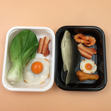 Industrial Manufacturer Food Grade Disposable meat Tray Blister PP Food Container Plastic Blister Package Fish Tray