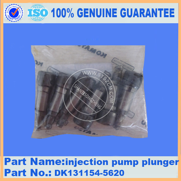 excavator spare parts PC200-7 injection pump plunger DK131154-5620