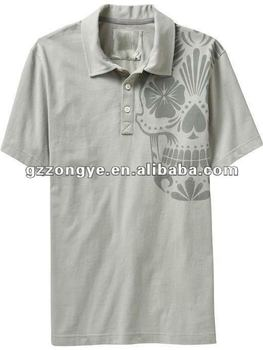 Trendy polo shirt for men, dark fushion cotton polo shirt,embroidered logo
