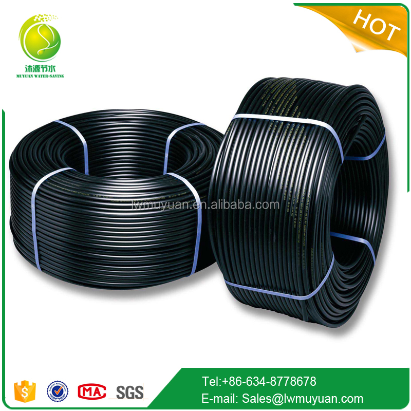 grade pe100 hdpe pipe for agricultural irrigation pipe in watering kits