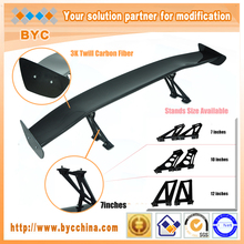 BYC Brand Name Products Universal Racing Rear Spoiler 135cm with 7 inch Aluminum Stands GT Spoiler