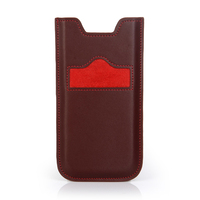"4.7"" Leather cell phone case for iphone 6"