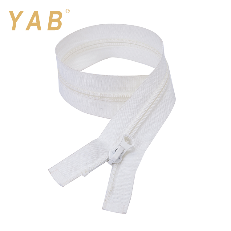 YAB Widely Used India Market No.3 Open-End Double Bone Long Chain Jeans Nylon Zipper