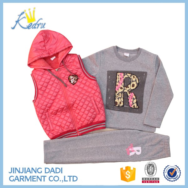 KIDS Young Girl 3pcs Outdoor Sport Set
