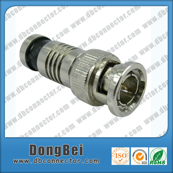 Dongbei Compression type RG6 RG59 Bnc 75 ohm conector