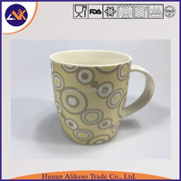 Directly from China factory supply high quality and fast delivery wholesale new bone china white ceramic mug with handle
