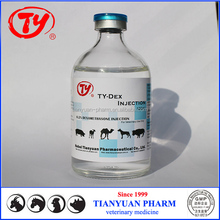 veterinary anti-allergic injection dexamethasone injection 0.2% with GMP supplier