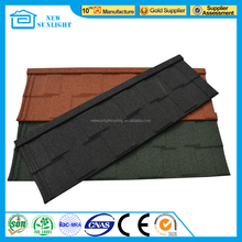 Shingle Colorful Sand Coated Metal Roofing Tile