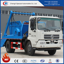 DFL hot sale swept-body refuse collector with best selling price