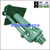 Vertical submersible centrifugal mining sand slurry suction pump series SP(R)
