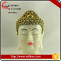 Home indoor decoration happy laughing marble buddha for sale