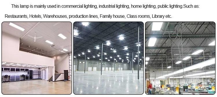 2018 nouveau produit usine entrepôt industriel linéaire de bureau 60 w 80 w 120 w 160 w LED lumière linéaire élevée de baie