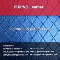 shiny pu leather for upper bags