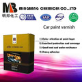 High gloss 2k acrylic varnish paint car refinish system