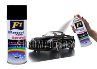 F1 aerosol spray paint (BLACK MATT)