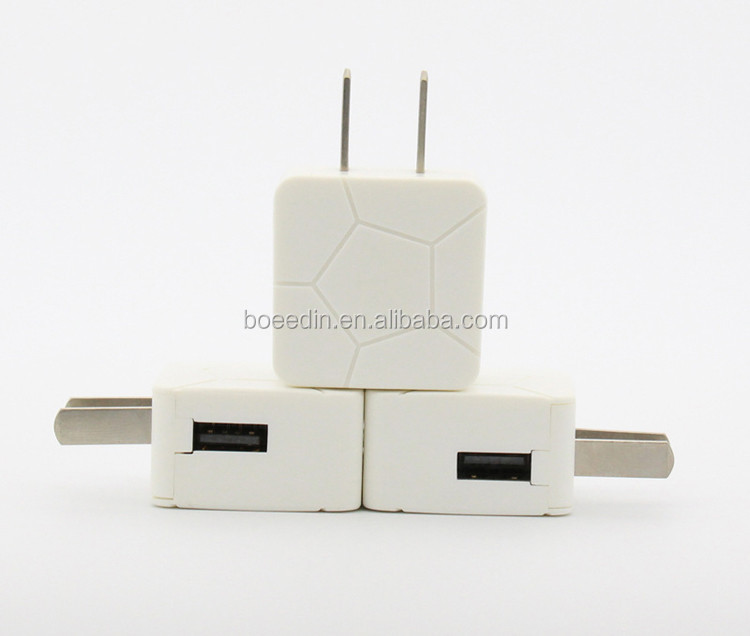 Hot Selling DC Mobile Phone Battery Charger 5V 1A White Color
