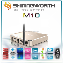 Shiningworth 2016 hot amlogic s812 android 4.4 kitkat m10 mxq s812 tv box 2gb /8gb/16GB/64GB quad core kodi tv box